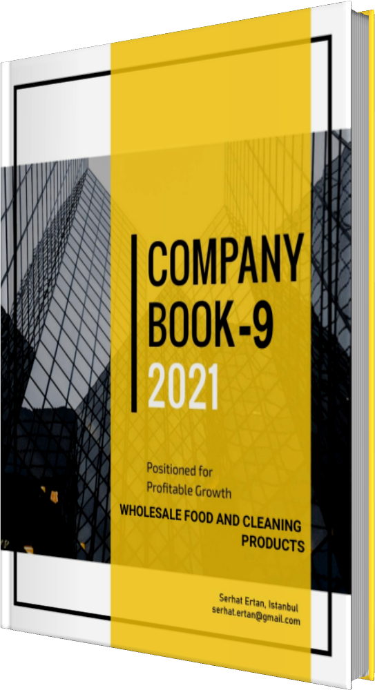 09 Company Book - WHOLESALE FOOD AND CLEANING PRODUCTS
