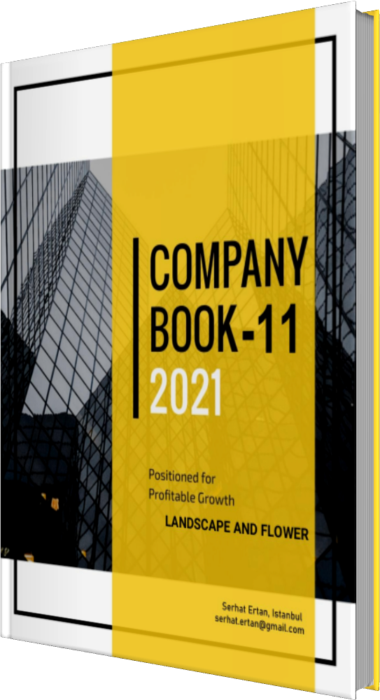 11 Company Book - LANDSCAPE AND FLOWER