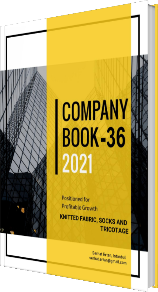 36 Company Book - KNITTED FABRIC, SOCKS AND TRICOTAGE