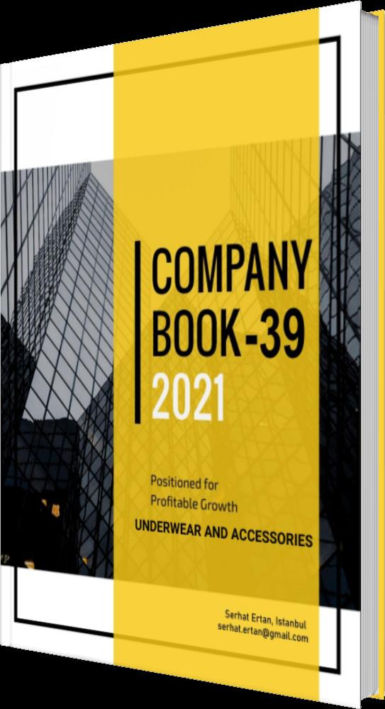 39 Company Book - UNDERWEAR AND ACCESSORIES