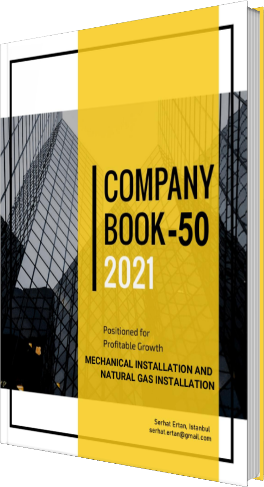 50 Company Book - MECHANICAL INSTALLATION AND NATURAL GAS INSTALLATION