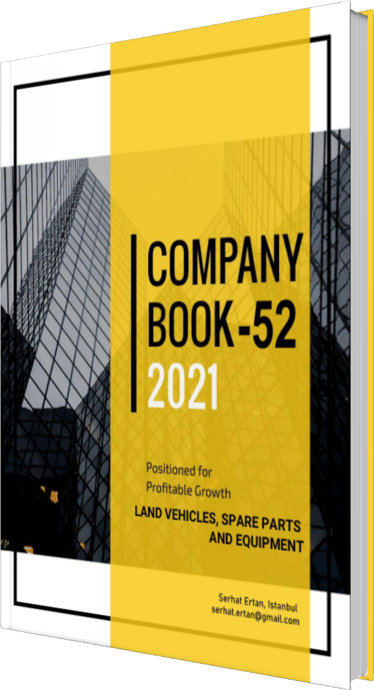 52 Company Book - LAND VEHICLES, SPARE PARTS AND EQUIPMENT