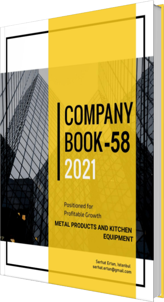 58 Company Book - METAL PRODUCTS AND KITCHEN EQUIPMENT