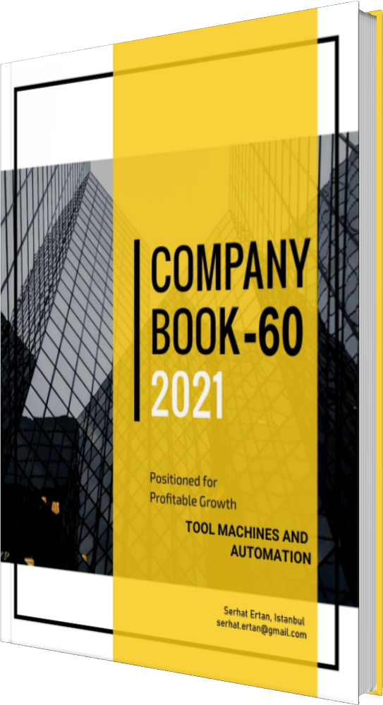 60 Company Book - TOOL MACHINES AND AUTOMATION
