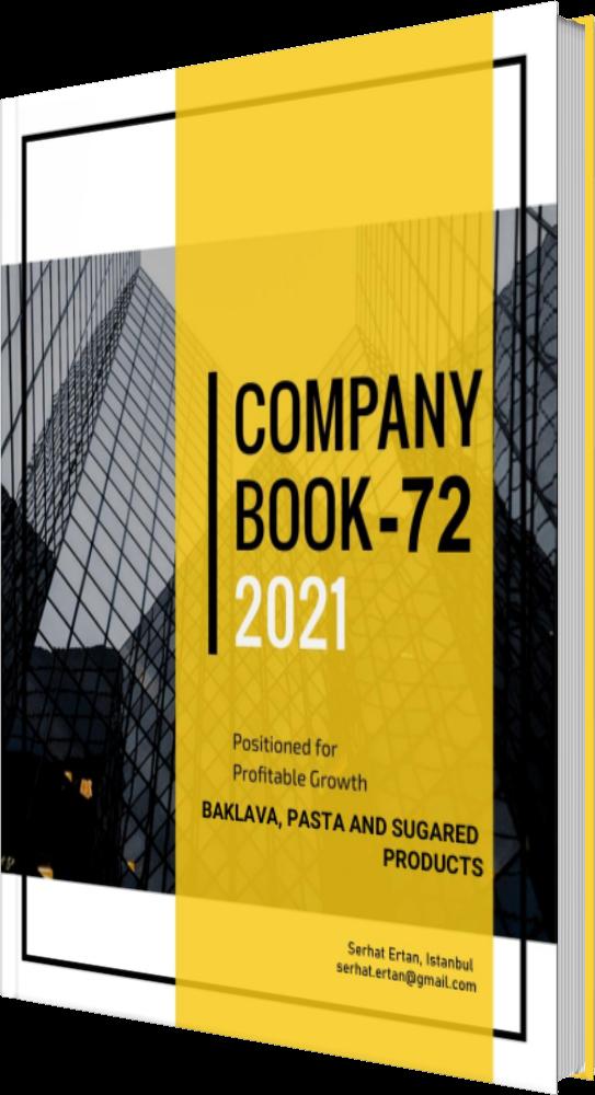 72 Company Book - BAKLAVA, PASTA AND SUGARED PRODUCTS