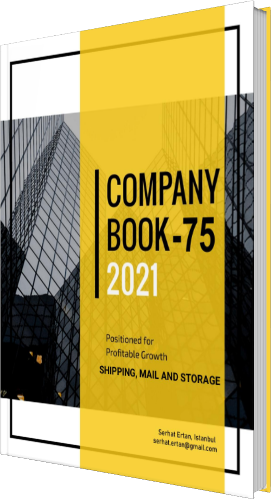 75 Company Book - SHIPPING, MAIL AND STORAGE
