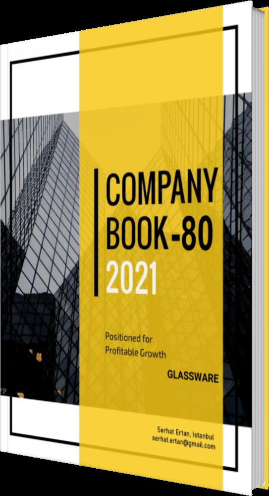 80 Company Book - GLASSWARE